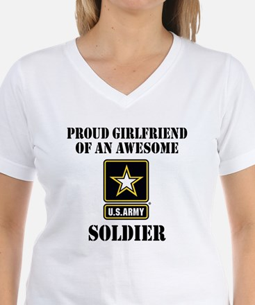 Proud U.S. Army Girlfriend Shirt