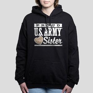 Proud U.S. Army Sister Hooded Sweatshirt