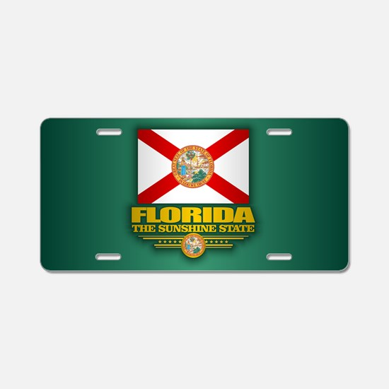 Florida (v15) Aluminum License Plate