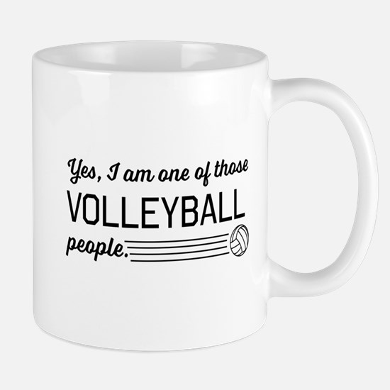 Yes I am one of those Volleyball people Mugs