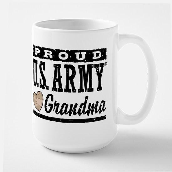 Proud U.S. Army Grandma Large Mug