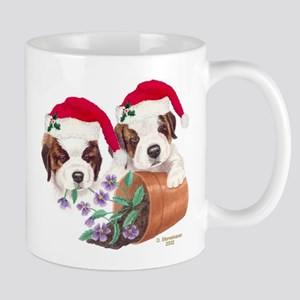 Saint Bernard Puppies Mug