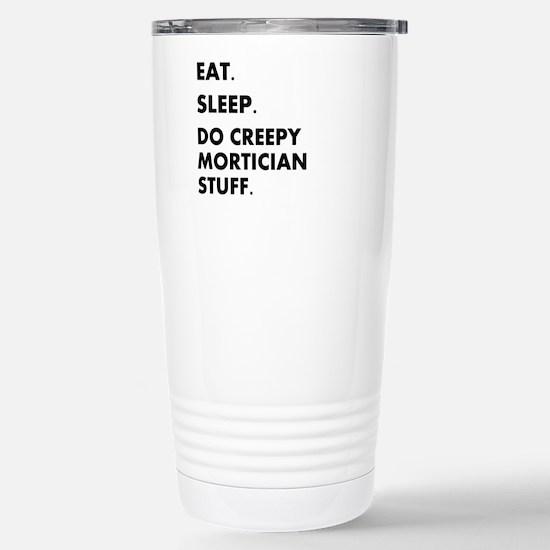 Unique Funny embalmer Travel Mug
