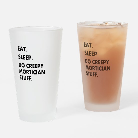 Unique Funeral director Drinking Glass