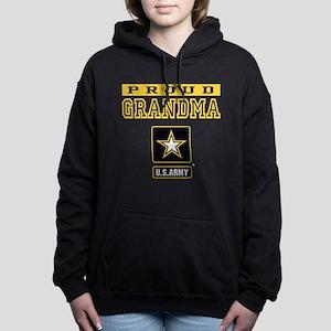 Proud Grandma U.S. Army Women's Hooded Sweatshirt