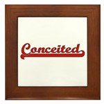 Conceited Framed Tile