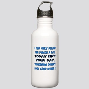 I can only please Stainless Water Bottle 1.0L