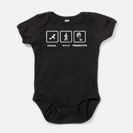 Cute Paramotoring Baby Bodysuit