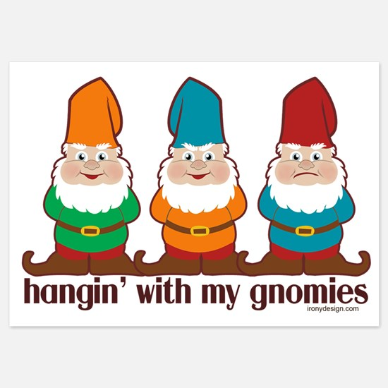 Hanging With My Gnomies Invitations