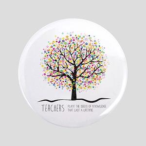 Teacher appreciation quote Button