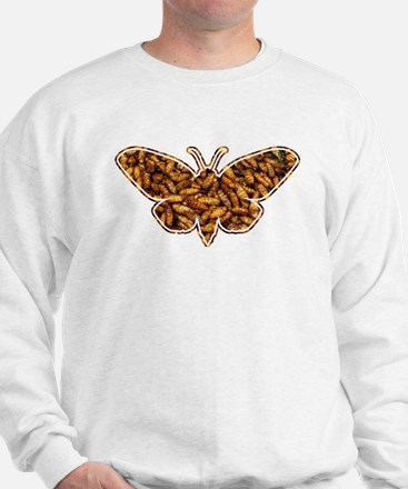Bamboo Borer Moth Life Cycle Silhouette Jumper