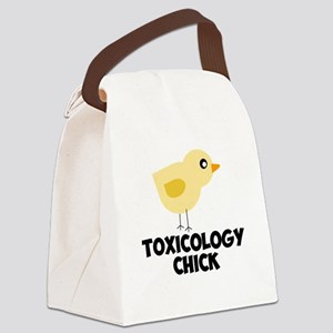 Toxicology Chick Canvas Lunch Bag