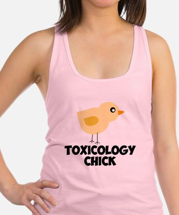 Toxicology Chick Racerback Tank Top