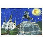 Starry Night Jackson Square
