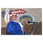 New Orleans Blues Singer Poster
