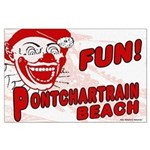 Vintage Pontchartrain Beach Poster
