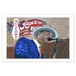 Blues Singer Large Poster
