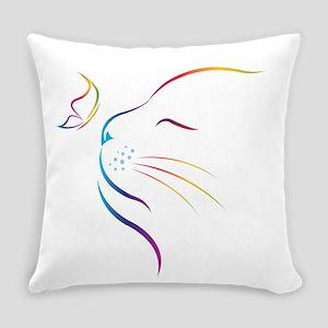 Cat Everyday Pillow