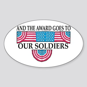 Winning Soldiers Rectangle Sticker