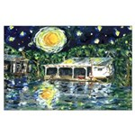 Starry Night Large Poster