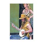Banjo Player Print