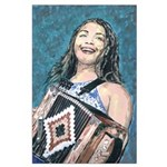 Zydeco Sweet Heart Large Poster