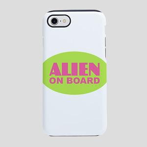ALIEN on BOARD iPhone 7 Tough Case