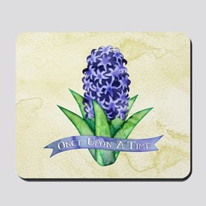 OUAT Hyacinth Flower Mousepad