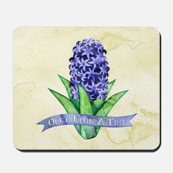 OUAT Hyacinth Flower Mousepad