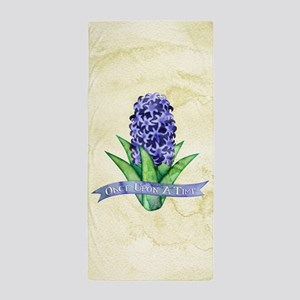 OUAT Hyacinth Flower Beach Towel