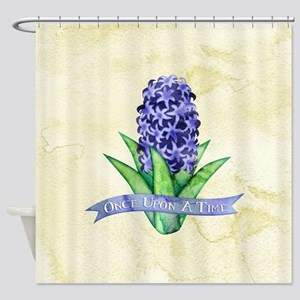 OUAT Hyacinth Flower Shower Curtain