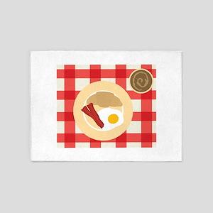 The English Breakfast 5'x7'Area Rug