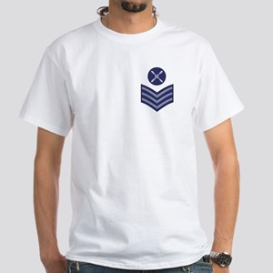 RAF Chief Technician<BR> White T-Shirt 2