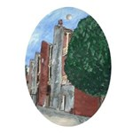 Gallery Row Oval Ornament