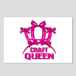 Craft Queen Postcards (Package of 8)
