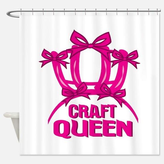 Craft Queen Shower Curtain