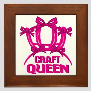 Craft Queen Framed Tile