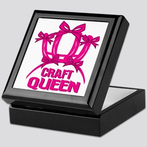 Craft Queen Keepsake Box