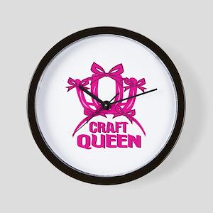 Craft Queen Wall Clock