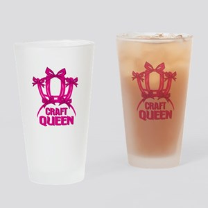 Craft Queen Drinking Glass