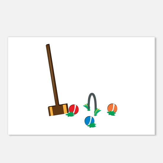 Croquet Postcards (Package of 8)