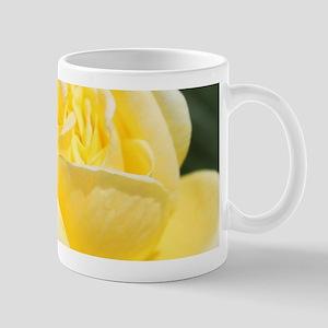 beautiful yellow rose flower Mugs