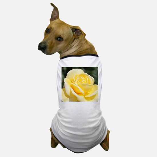 beautiful yellow rose flower Dog T-Shirt