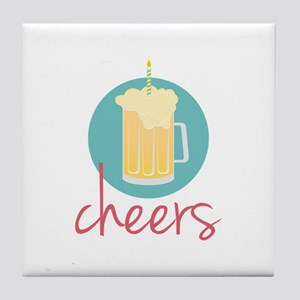 Cheers Tile Coaster