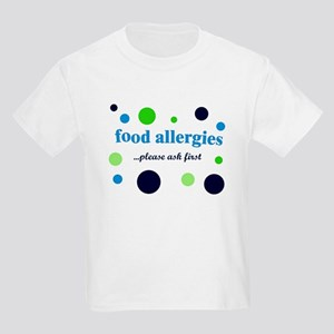 Food Allergies Kids Light T-Shirt