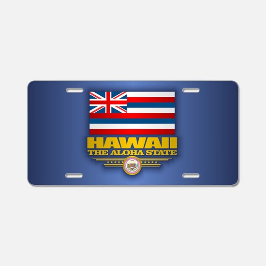 Hawaii (v15) Aluminum License Plate