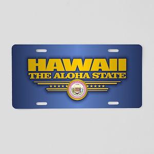 Hawaii (v15) Aluminum License Plate