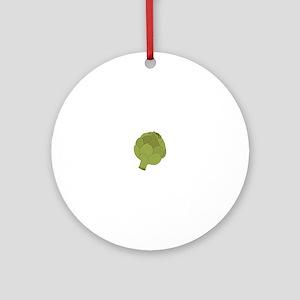 Artichoke Ornament (Round)