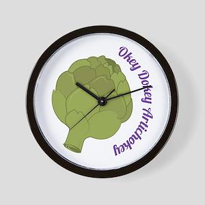 Okey Dokey Artichokey Wall Clock