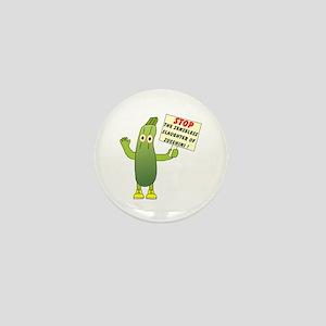 Save Zucchini Mini Button